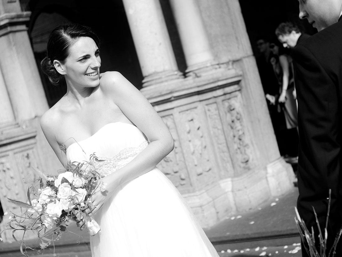 Hochzeitsportrait der Braut
