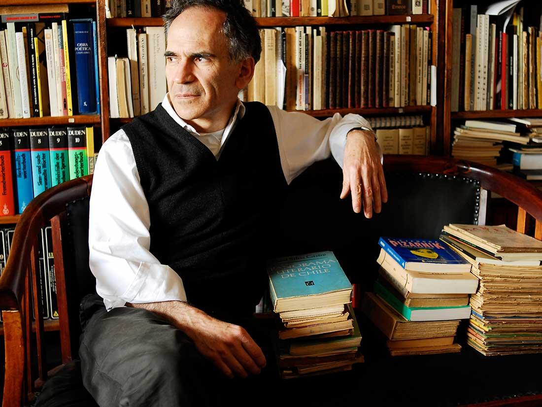 Santiago de Chile Portrait Schriftsteller